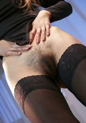 Hairy Pussy And Stockings Pics