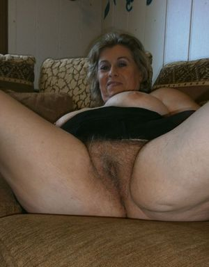 Well understand old mature hairy granny pussy